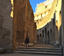 In the Colosseum