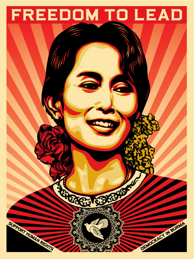 Aung San Suu Kyi Obey Giant