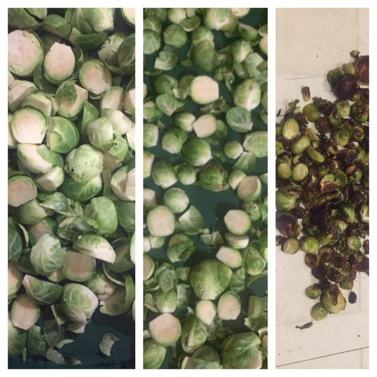 roasting brussels sprouts