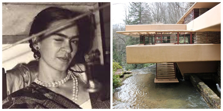Frida Kahlo Fallingwater pool