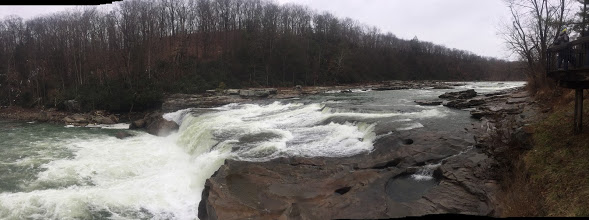Youghiogheny River Rapids Ohiopyle State Park